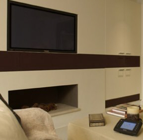 Home Theater lareira